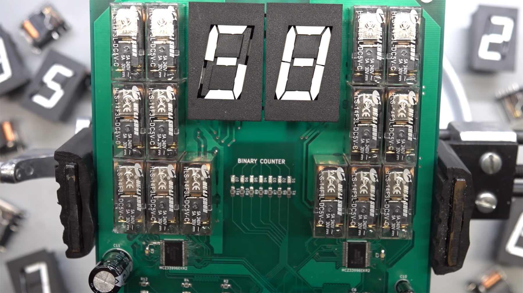 High Speed-Fallblattanzeige in herrlichen 60 Fps