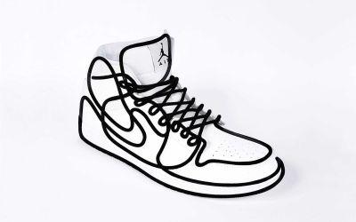 Nike Air Jordan aus einer Linie