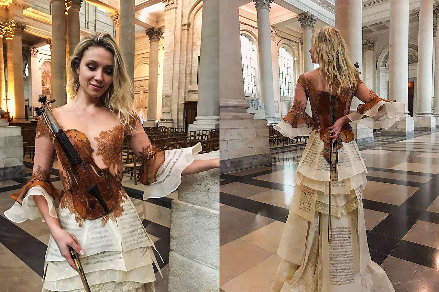 Märchenhafte Kleider von Sylvie Facon