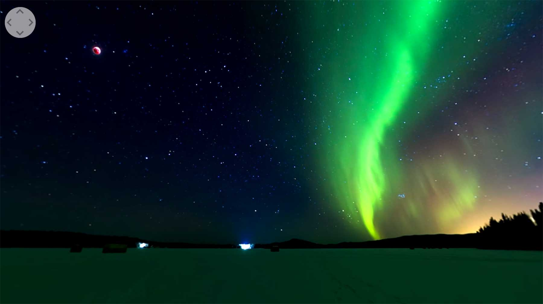 Mondfinsternis und Polarlichter in 360°-Video anschauen Lunar-Eclipse-and-Aurora-Borealis-360
