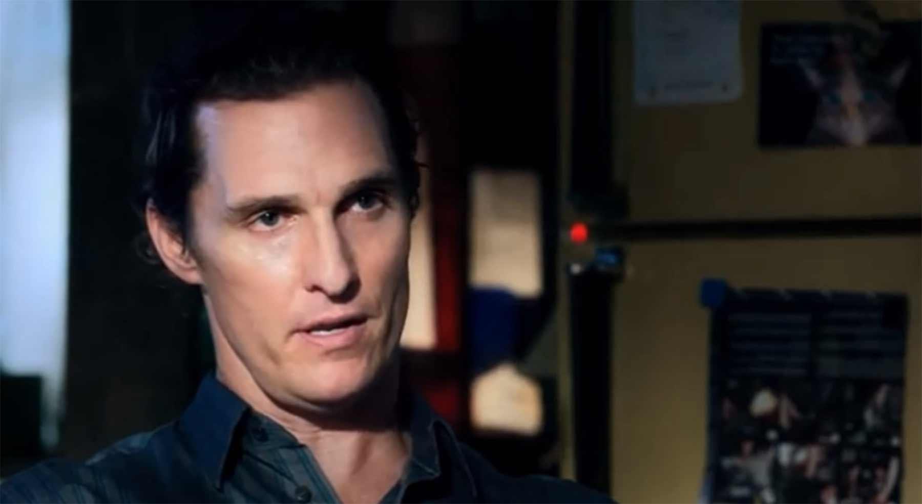 "Matthew McConaughey sagt vier Minuten lang ""Alright"""