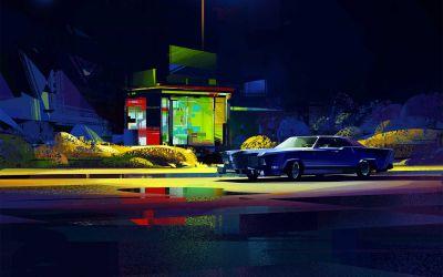 Digital Paintings: Michał Sawtyruk