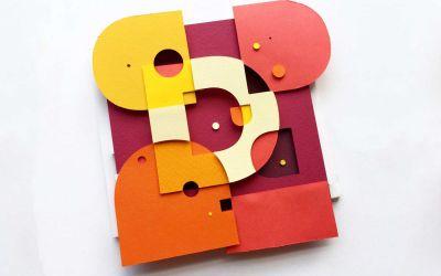 Papier trifft Typografie