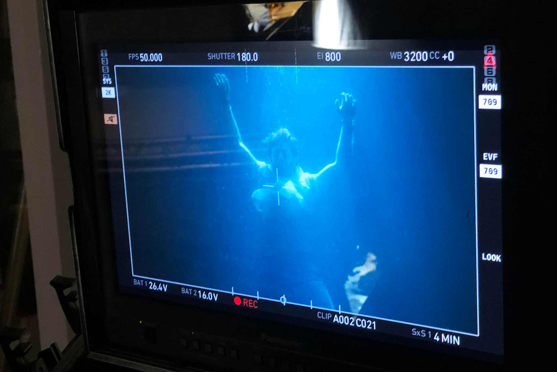 Ich war beim Unterwasser-Musikvideodreh von The Wholls