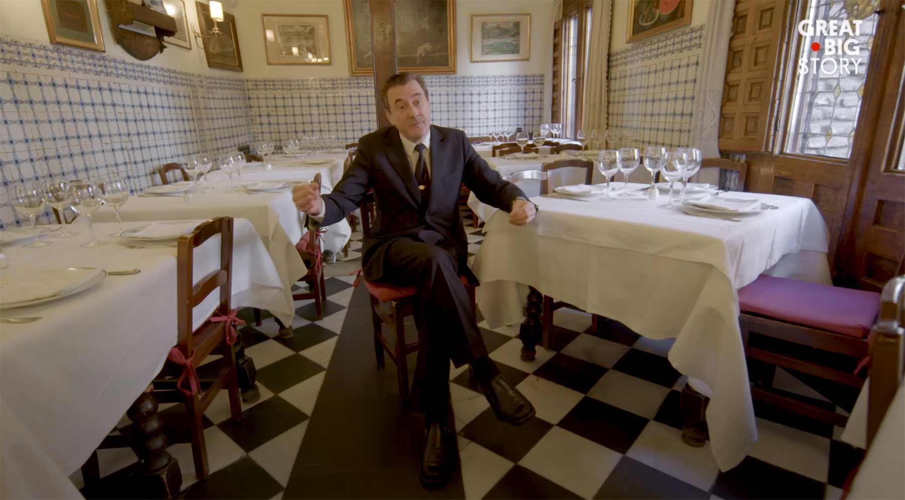Zu Gast im ältesten Restaurant der Welt
