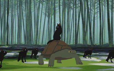 """Wunderschön animiert: """"Away"""""""