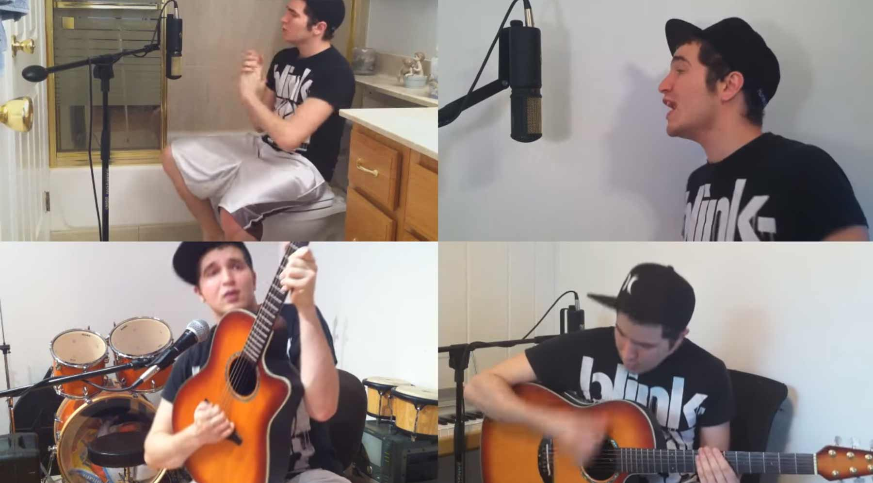 "Solo-Cover von blink-182s ""Feeling This"""