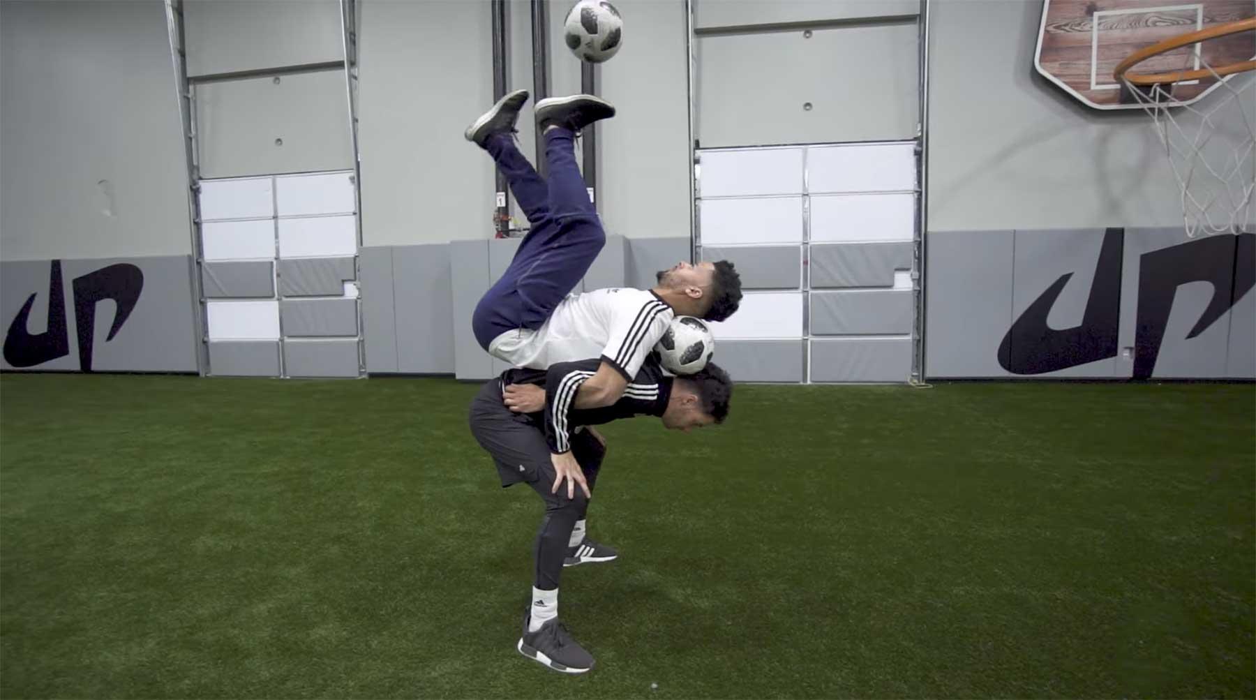 Fußball- und Football-Trickshots von Dude Perfect