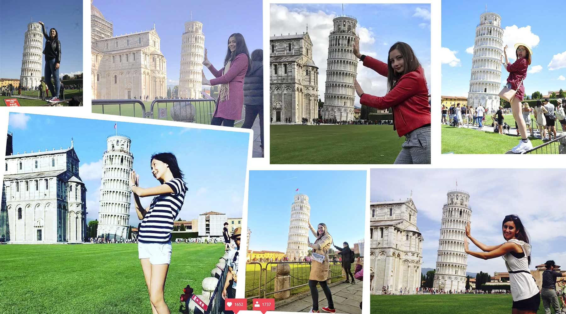Ein Reisevideo aus klischeehaften Instagram-Fotos