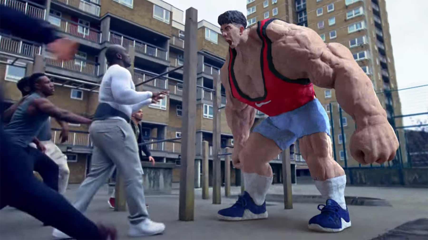 Nikes grandioser neuer sportübergreifender Spot nothing-beats-a-londoner-nike