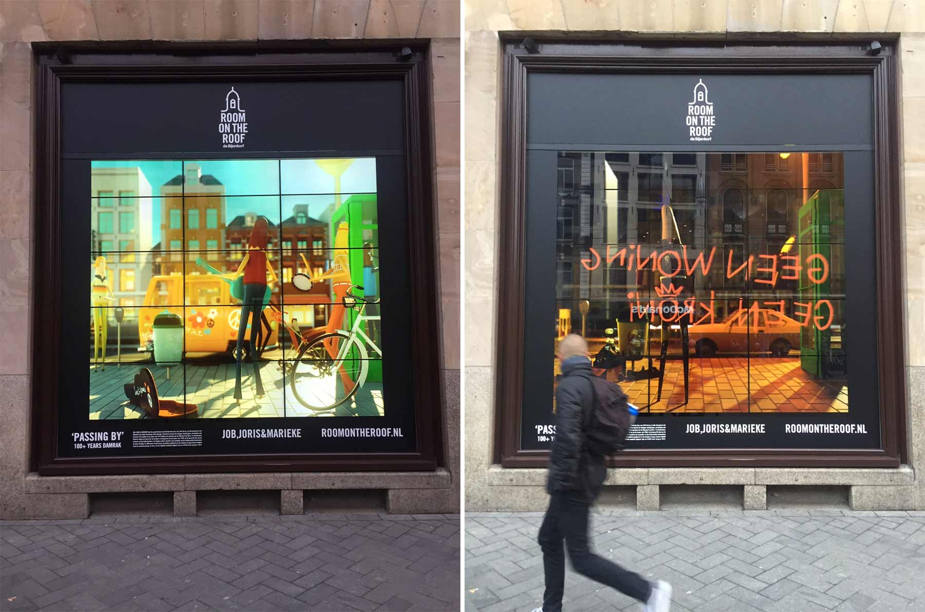Ein Jahrhundert aus der Sicht eines Schaufensters passing-by-schaufenster-2
