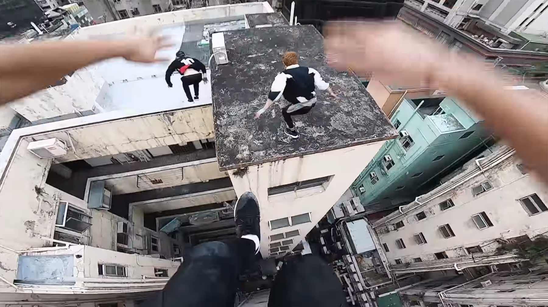 Verfolgungsjagd über Hong Kongs Dächern