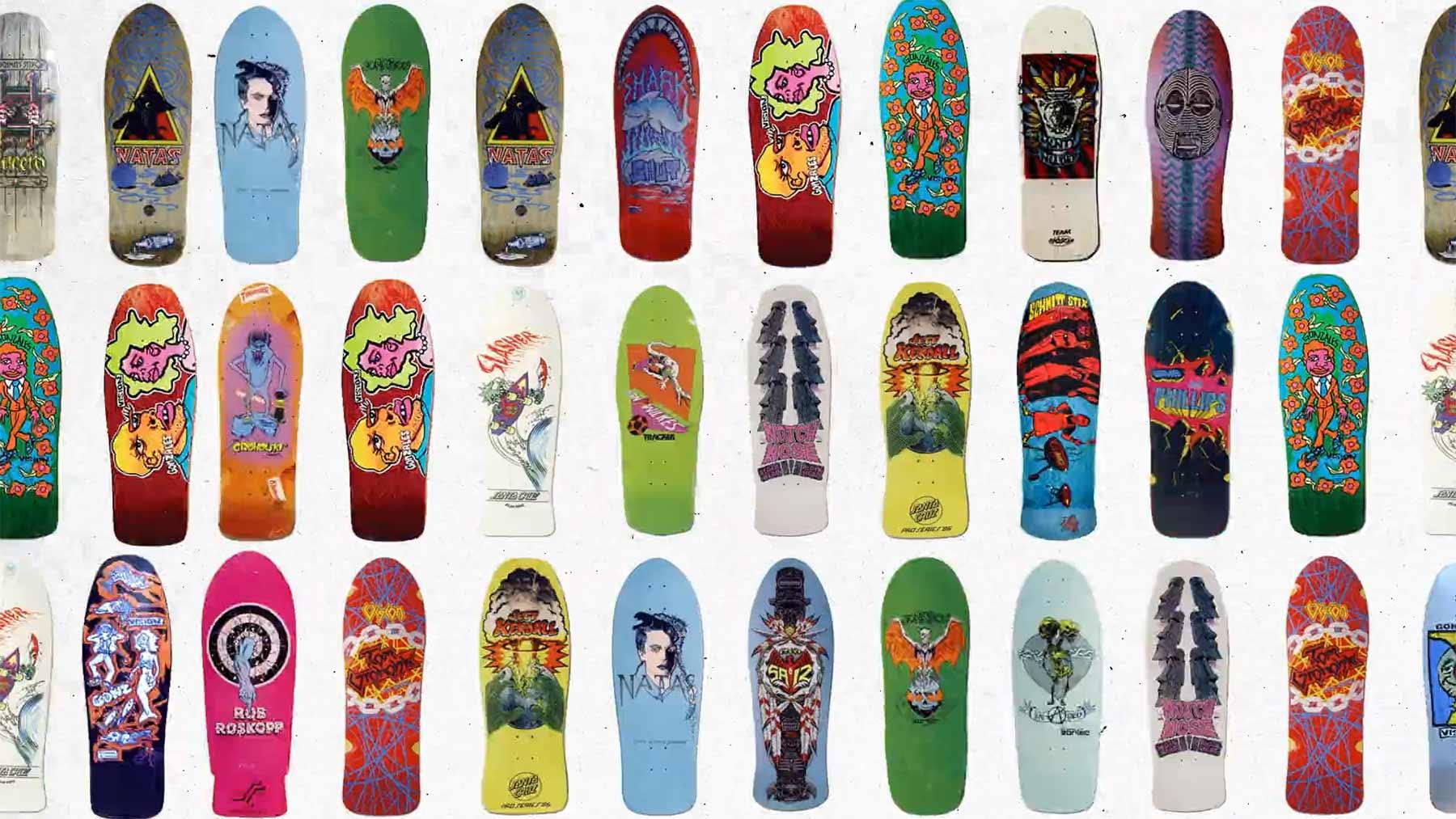 Die Geschichte der Skateboard-Formen