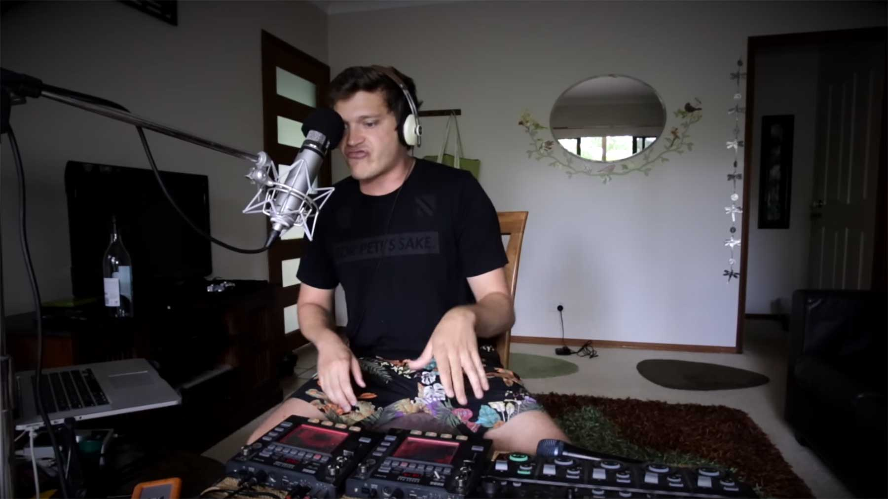 Tom Thums mundgeblasene Scratch-Sounds