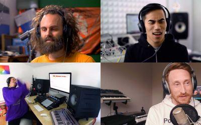 4 MusikproduzentInnen 1 Sample