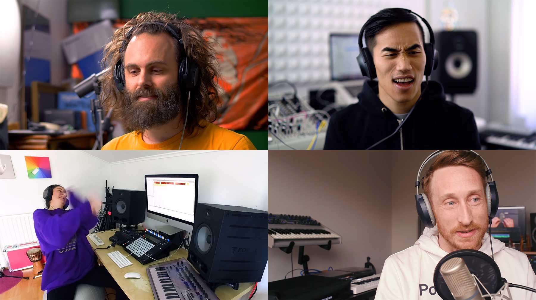 4 MusikproduzentInnen 1 Sample 4-musikproduzenten-1-sample-remix-wettbewerb