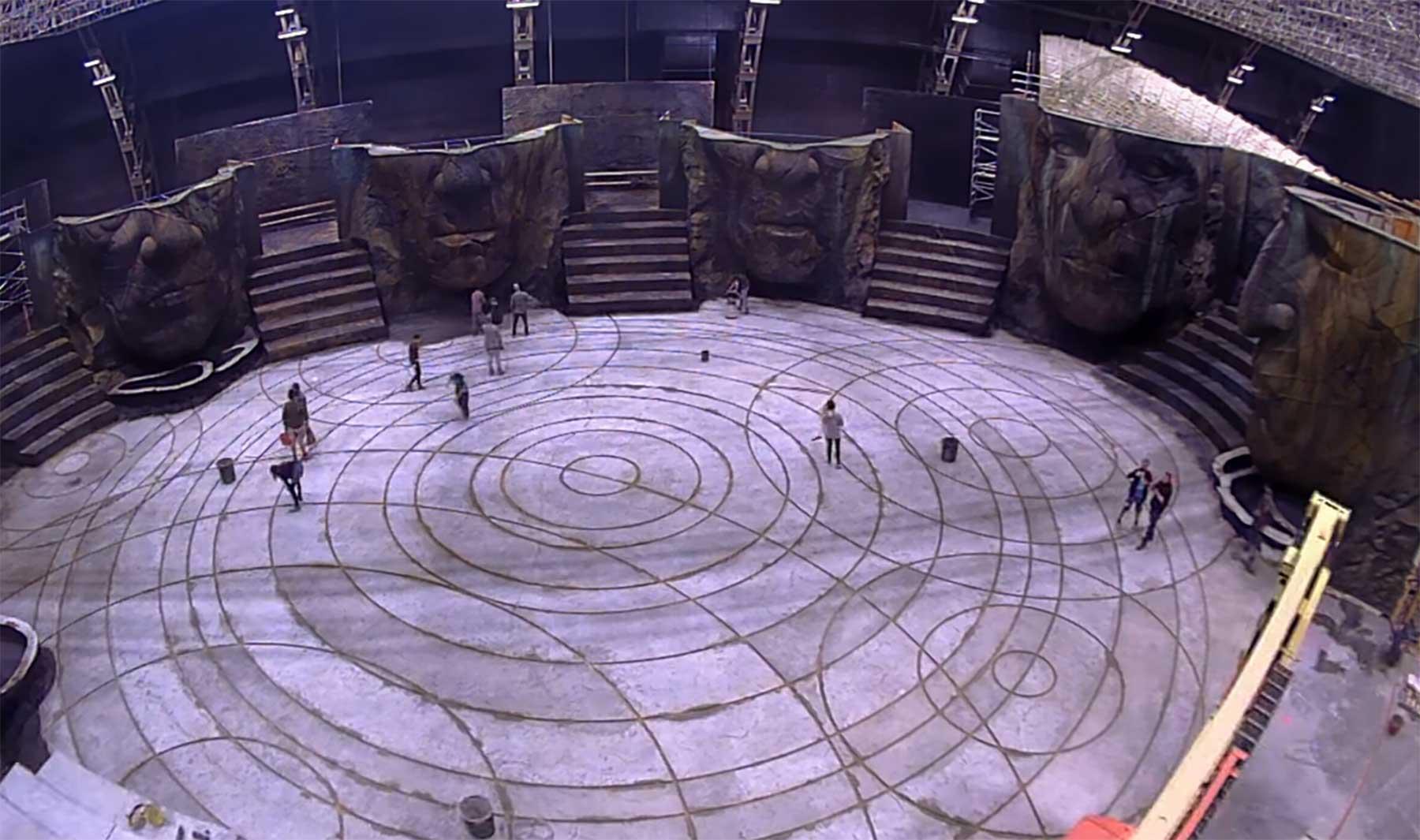 "Timelapse: Filmkulissenbau für ""Alien: Covenant"""