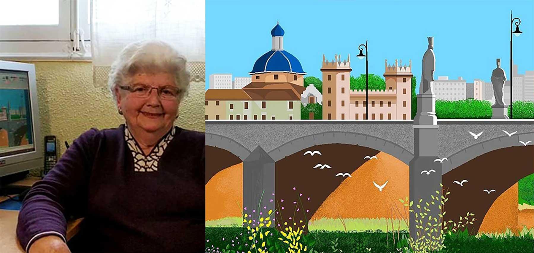 87-jährige Oma malt tolle Bilder mit MS Paint