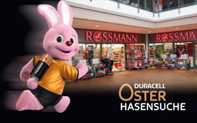 Finde den Duracell Hasen bei ROSSMANN und gewinne 2.222 Euro