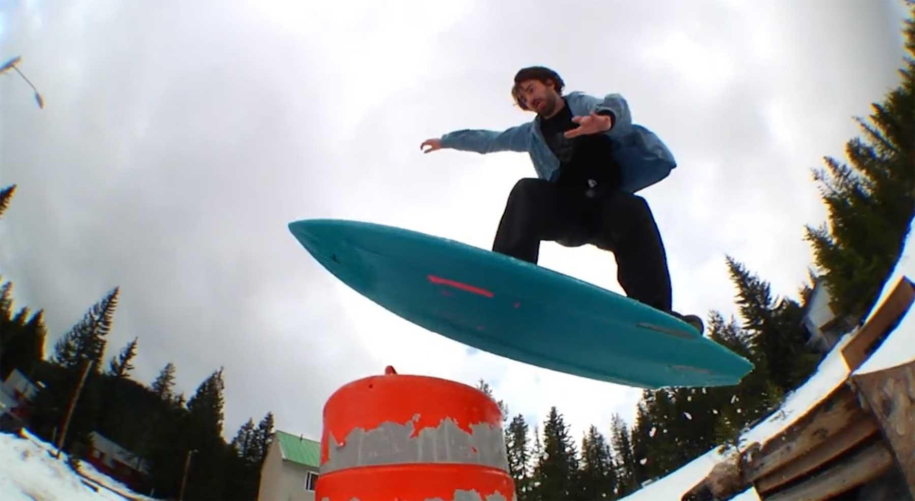 Spontane Snowboard-Sause: FSBS2