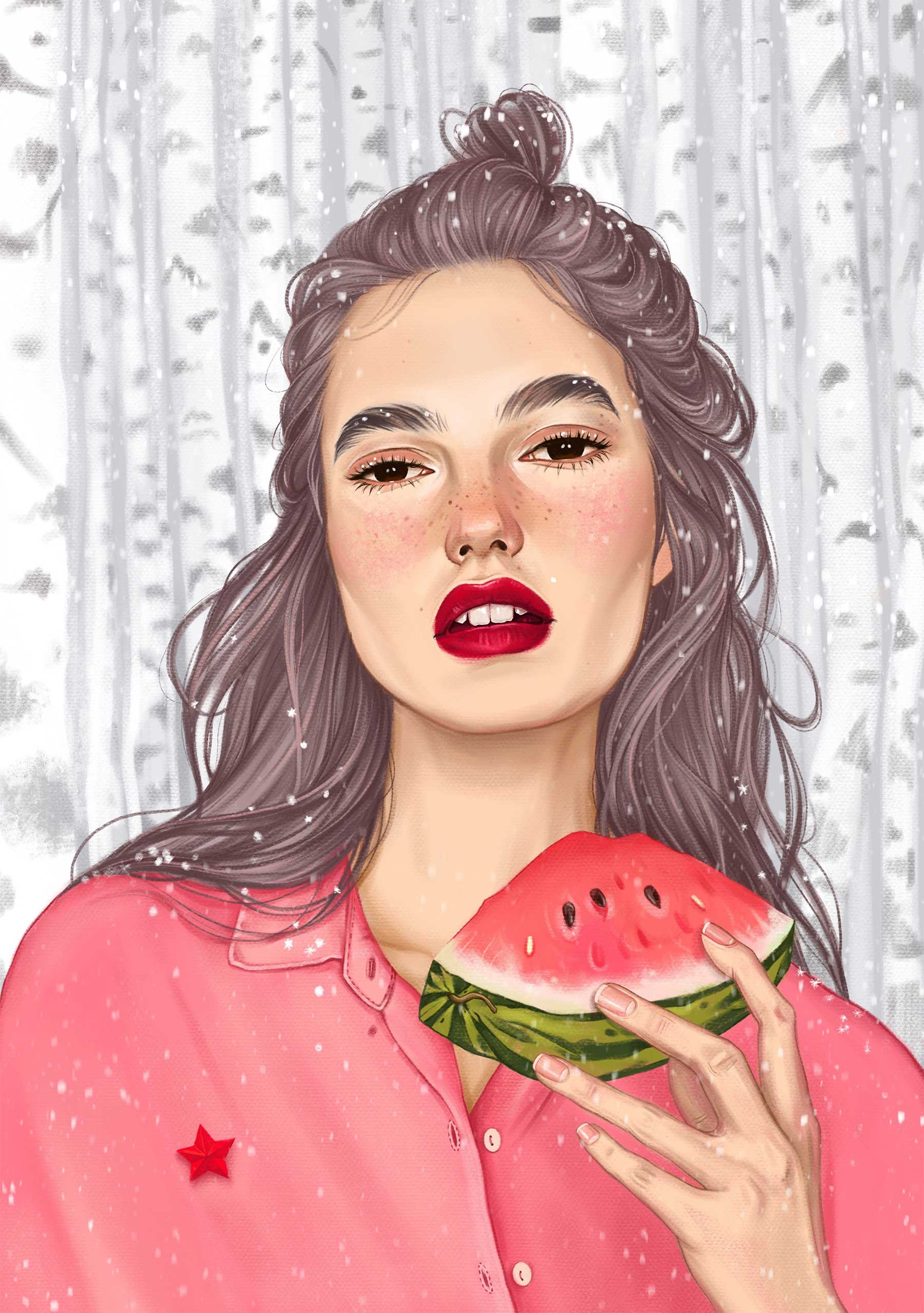 Illustration: Karina Yashagina