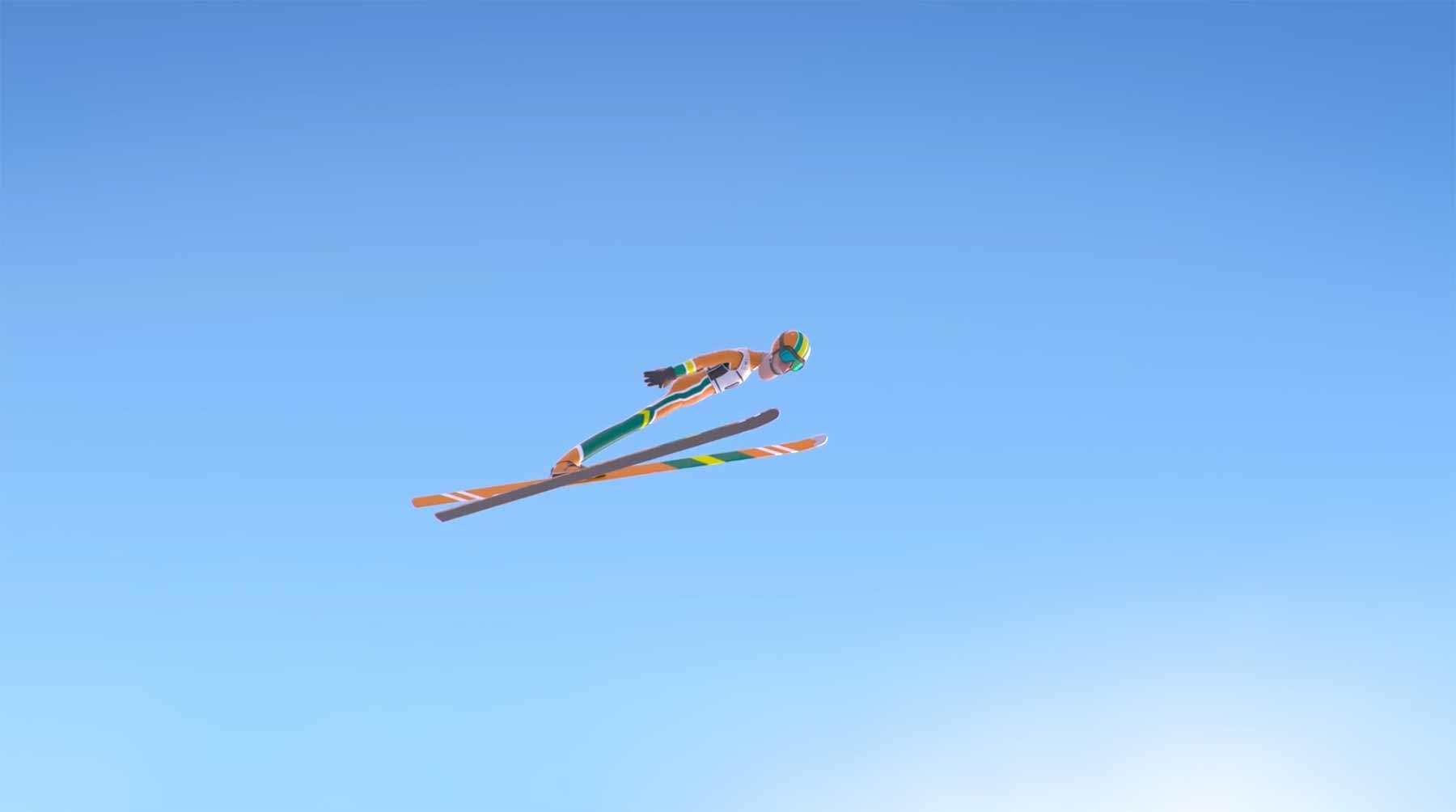 Die unendliche Schönheit des Skifliegens Le-Grand-Saut