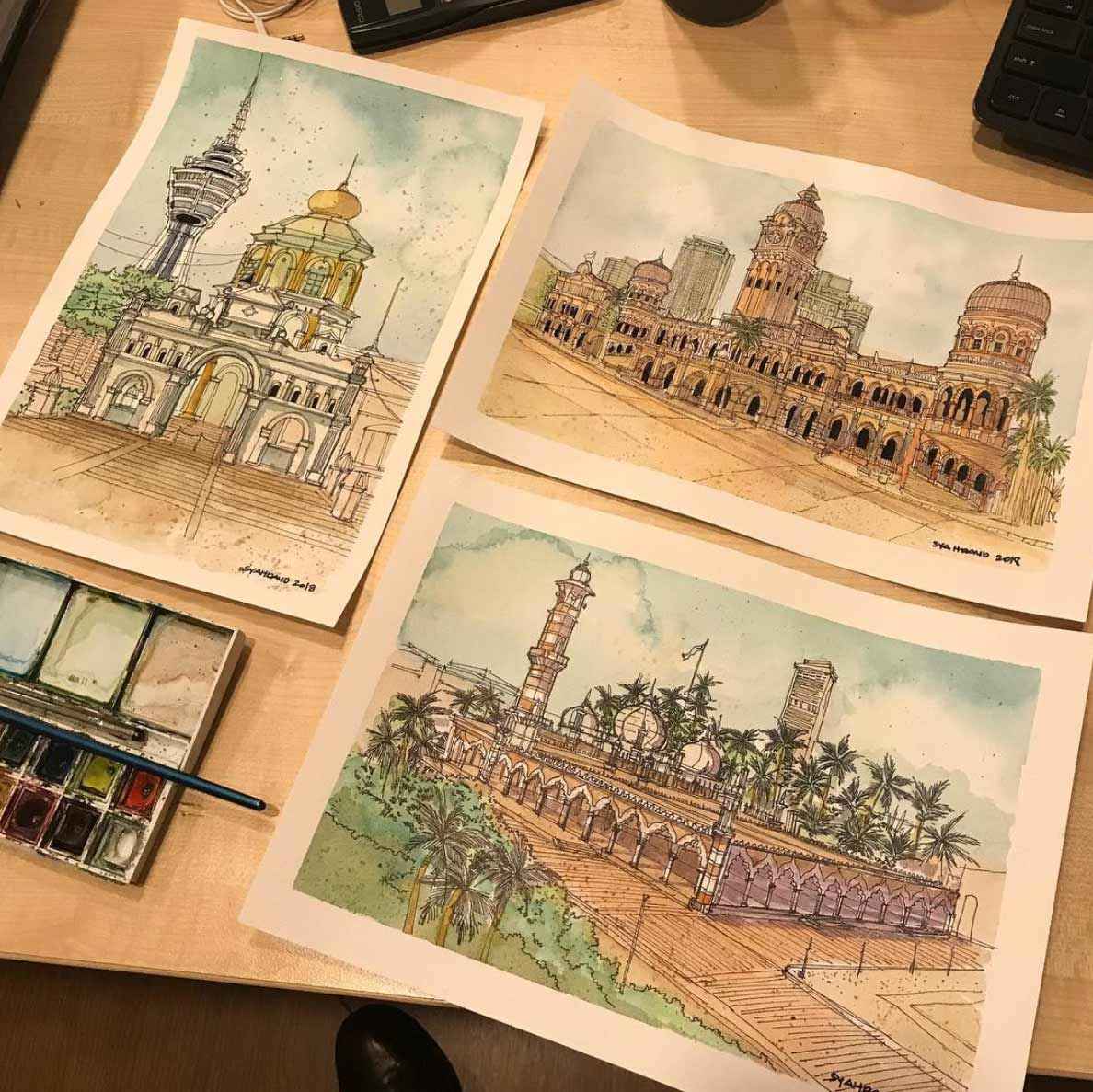 Zeichnungen: Syahmi Daud Syahmi-Daud_06