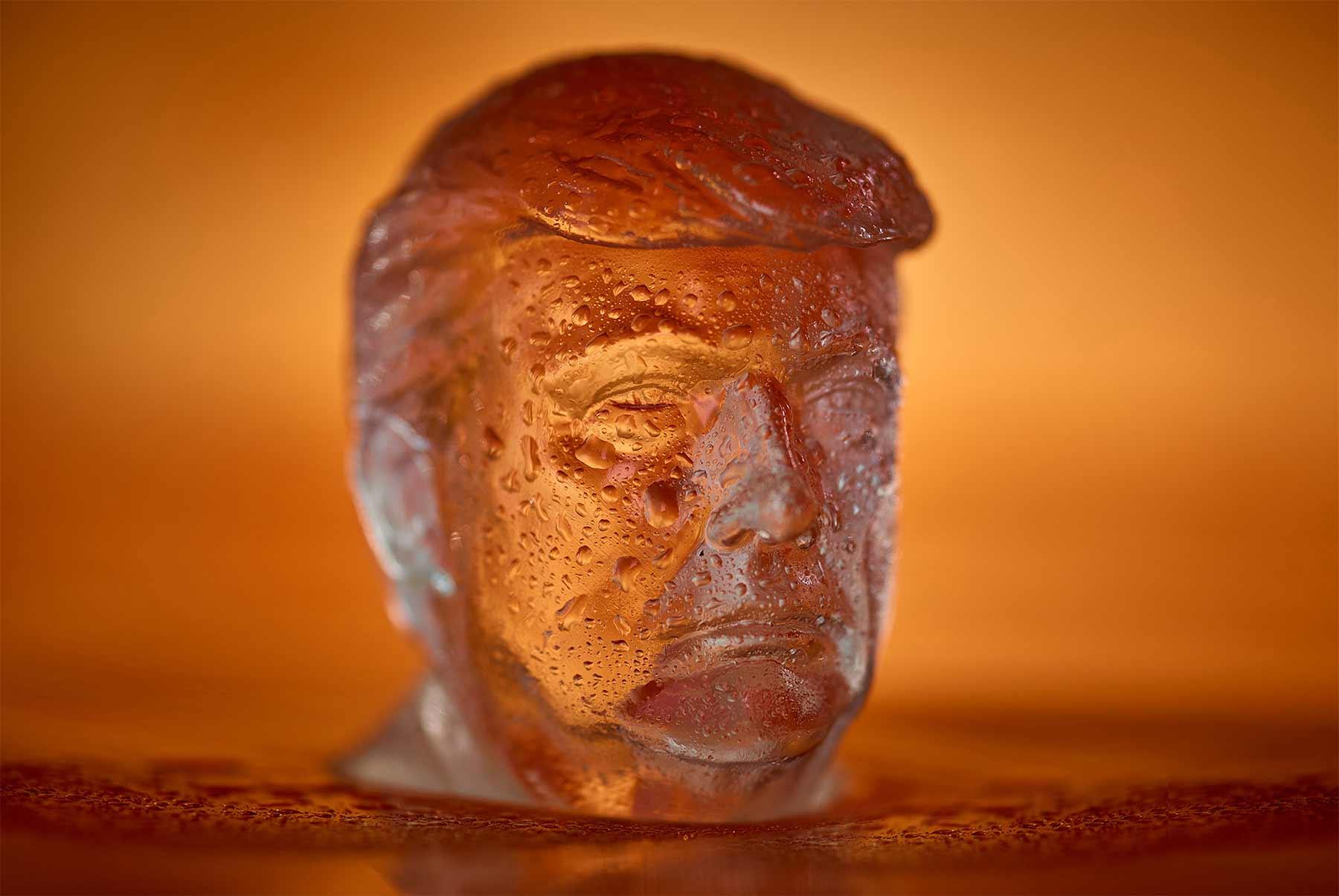 Donald Trump-Eiswürfel