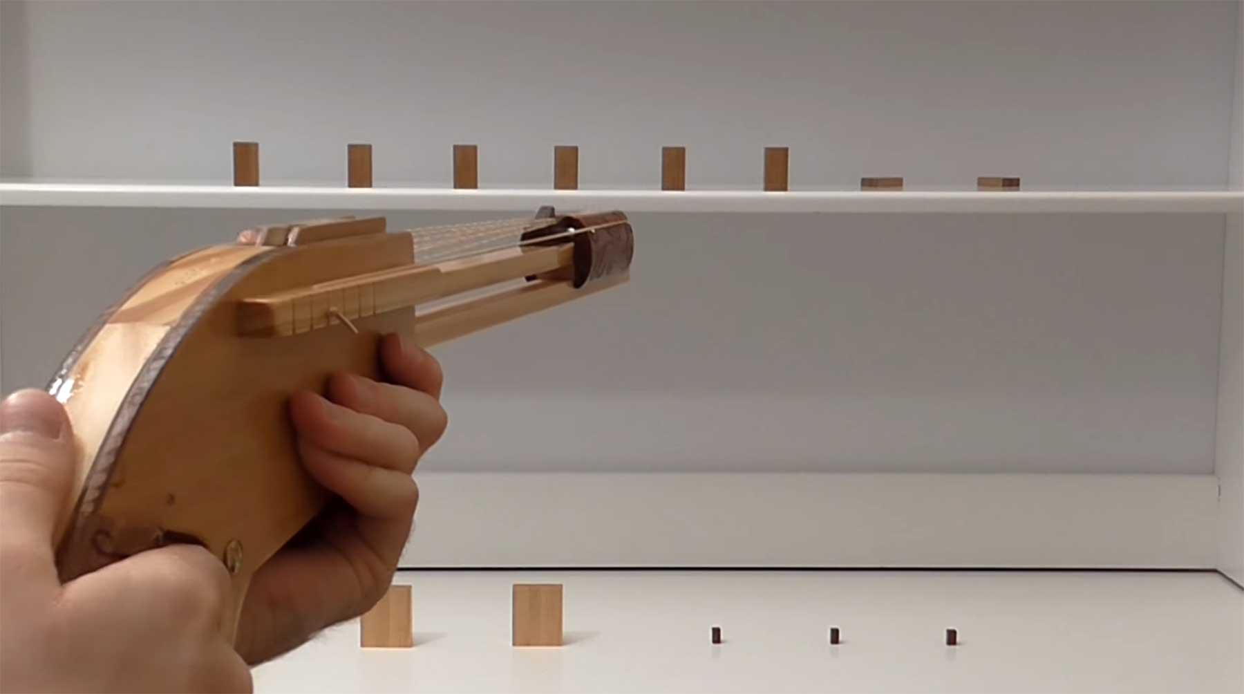 Gummiband-Flitsch-Gewehr