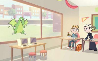 Animierter Kurzfilm: Kid Arthur