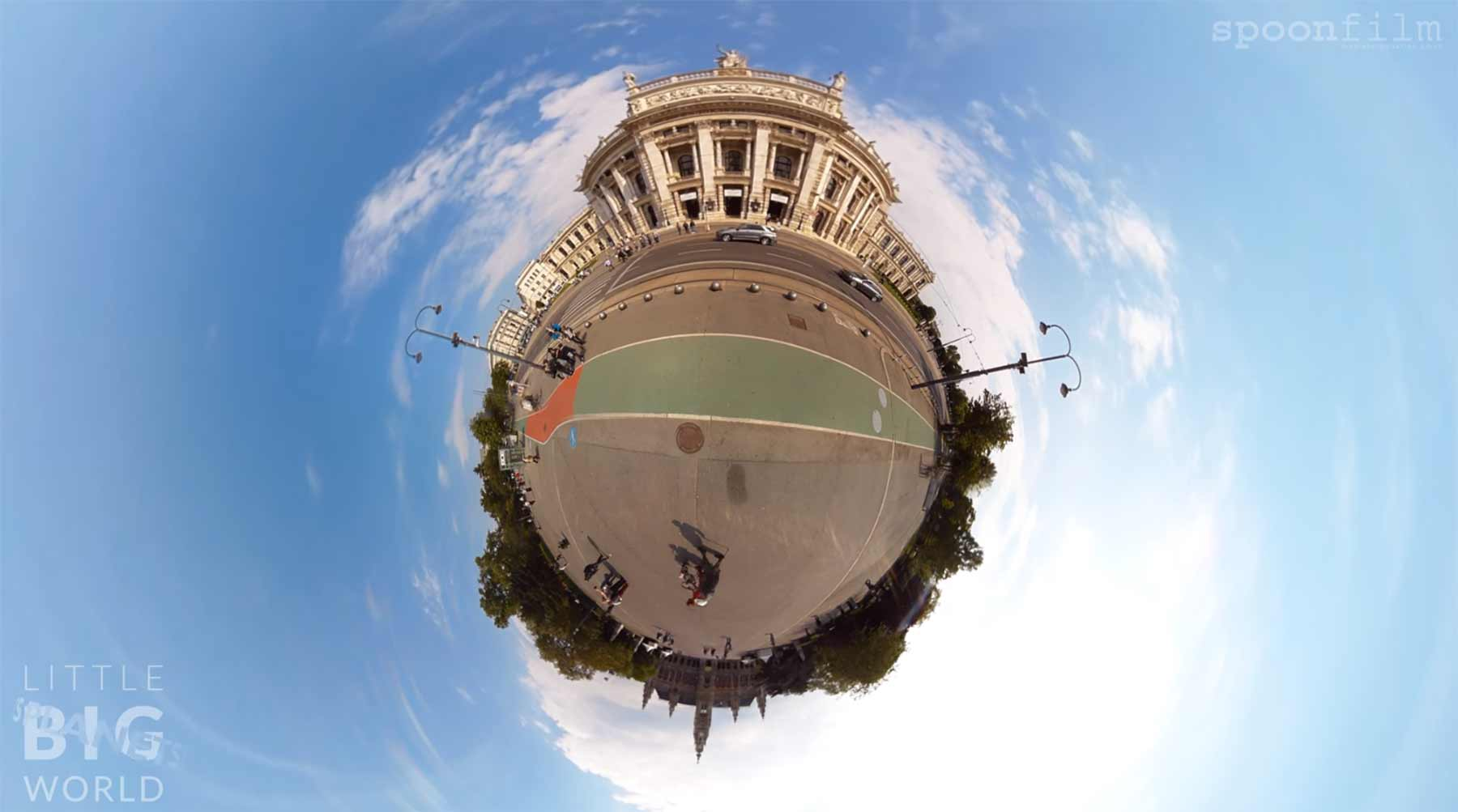 Wien als Mini-Planet little-big-world-planets-planet-vienna-wien