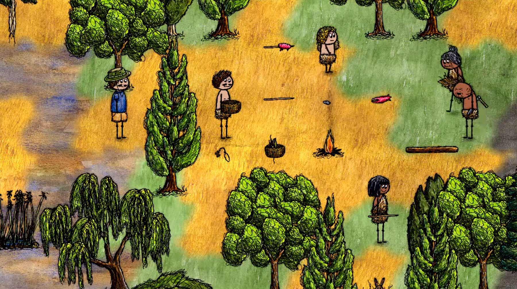 Dieses Spiel gibt euch eine Stunde, die Zivilisation aufzubauen one-hour-one-life-trailer