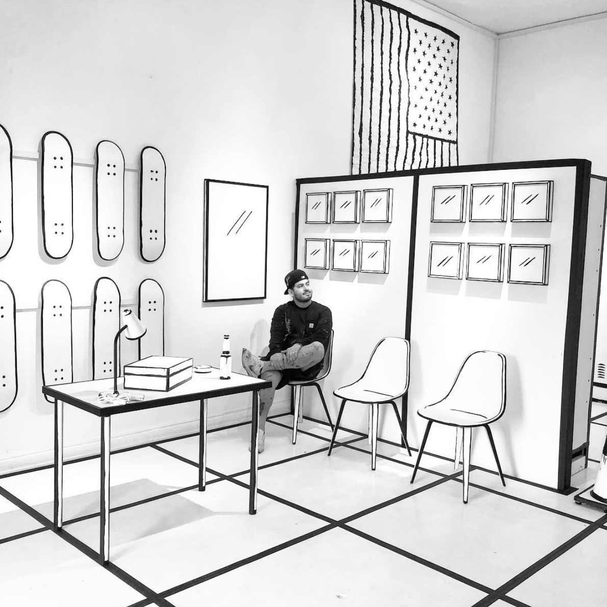 Joshua Vides macht Gegenstände zu Zeichnungen reality-to-idea-joshua-vides_08