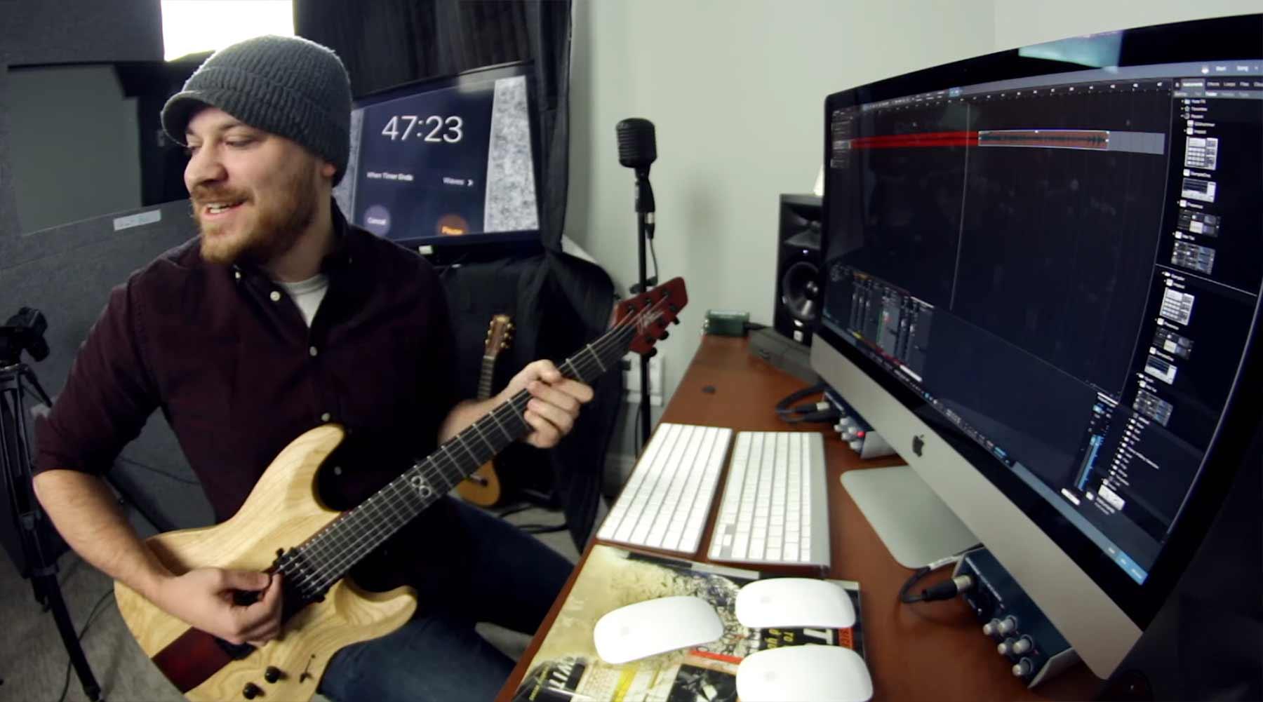 Rob Scallon schreibt einen Song in 57 Minuten