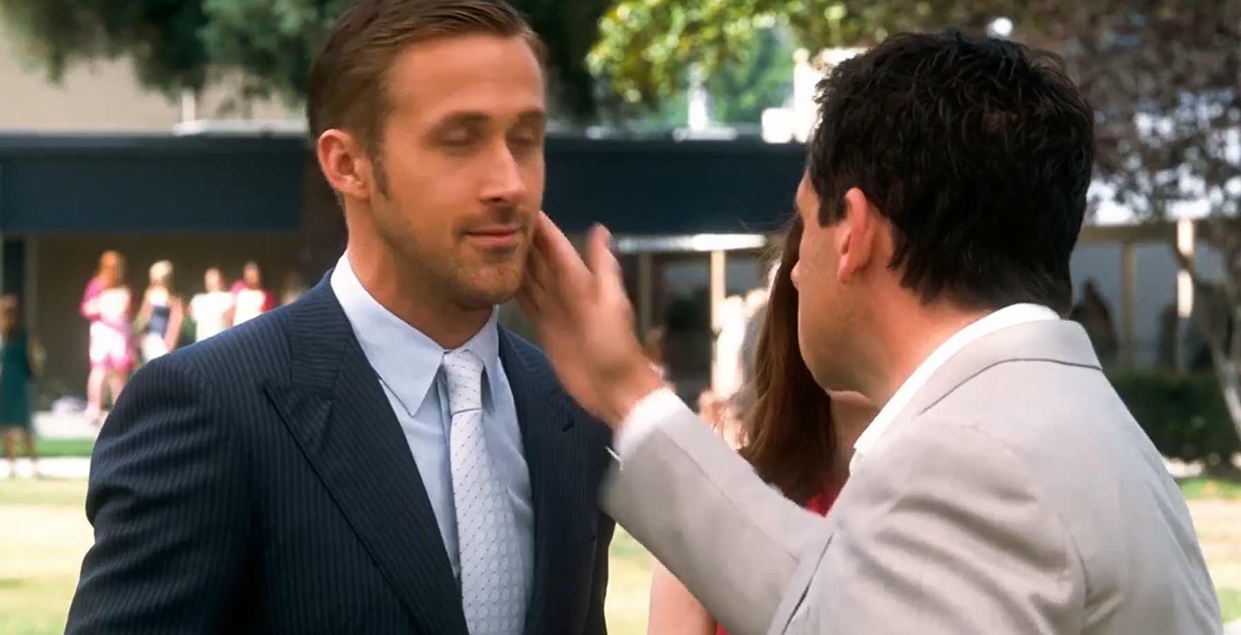 Ryan Gosling wird eine Minute lang geschlagen