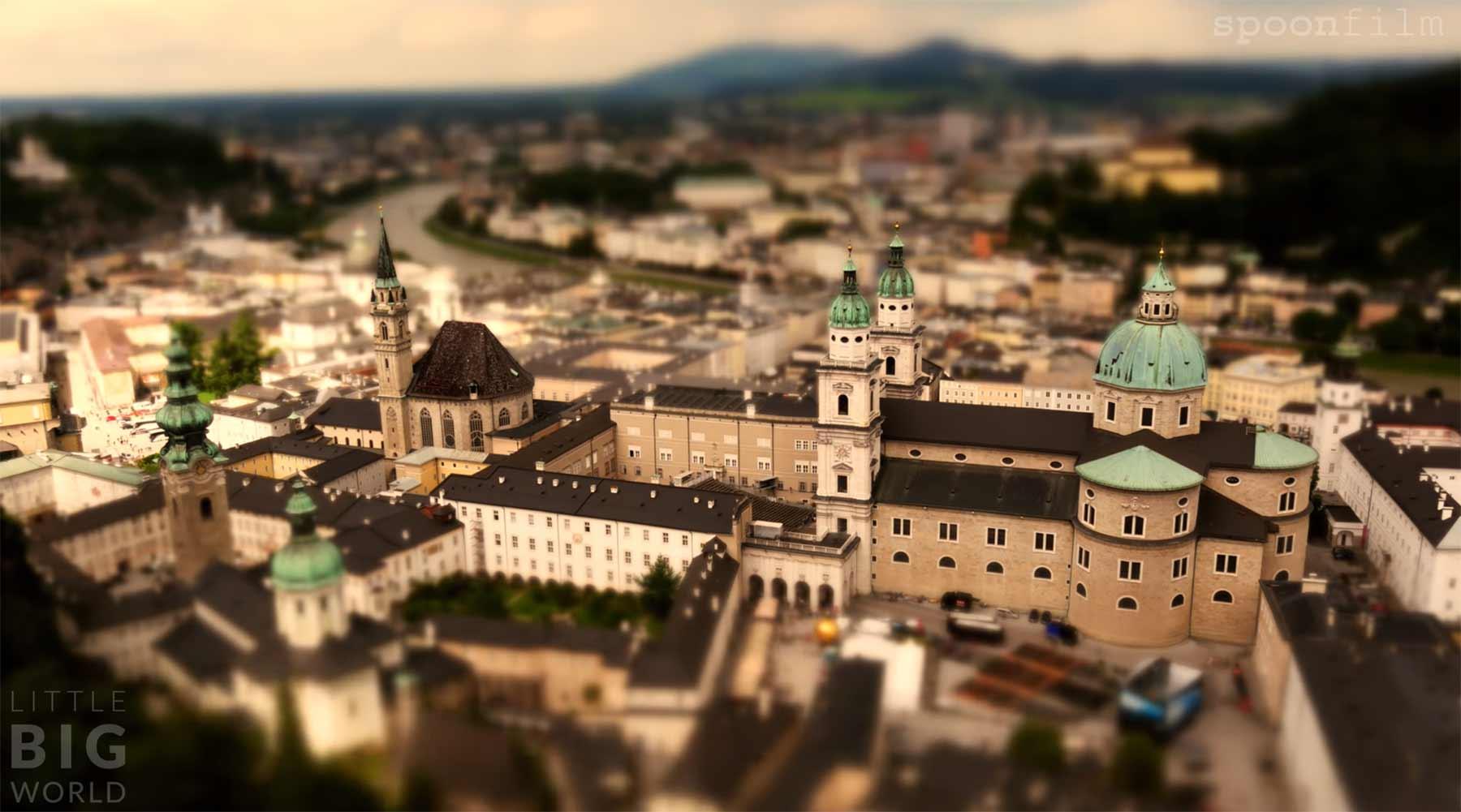Tilt-Shift: Servus Salzburg