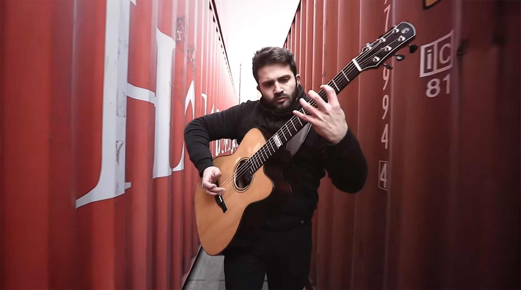 The Prodigy-Medley auf der Akustikgitarre