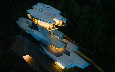 Ein Haus wie ein Raumschiff