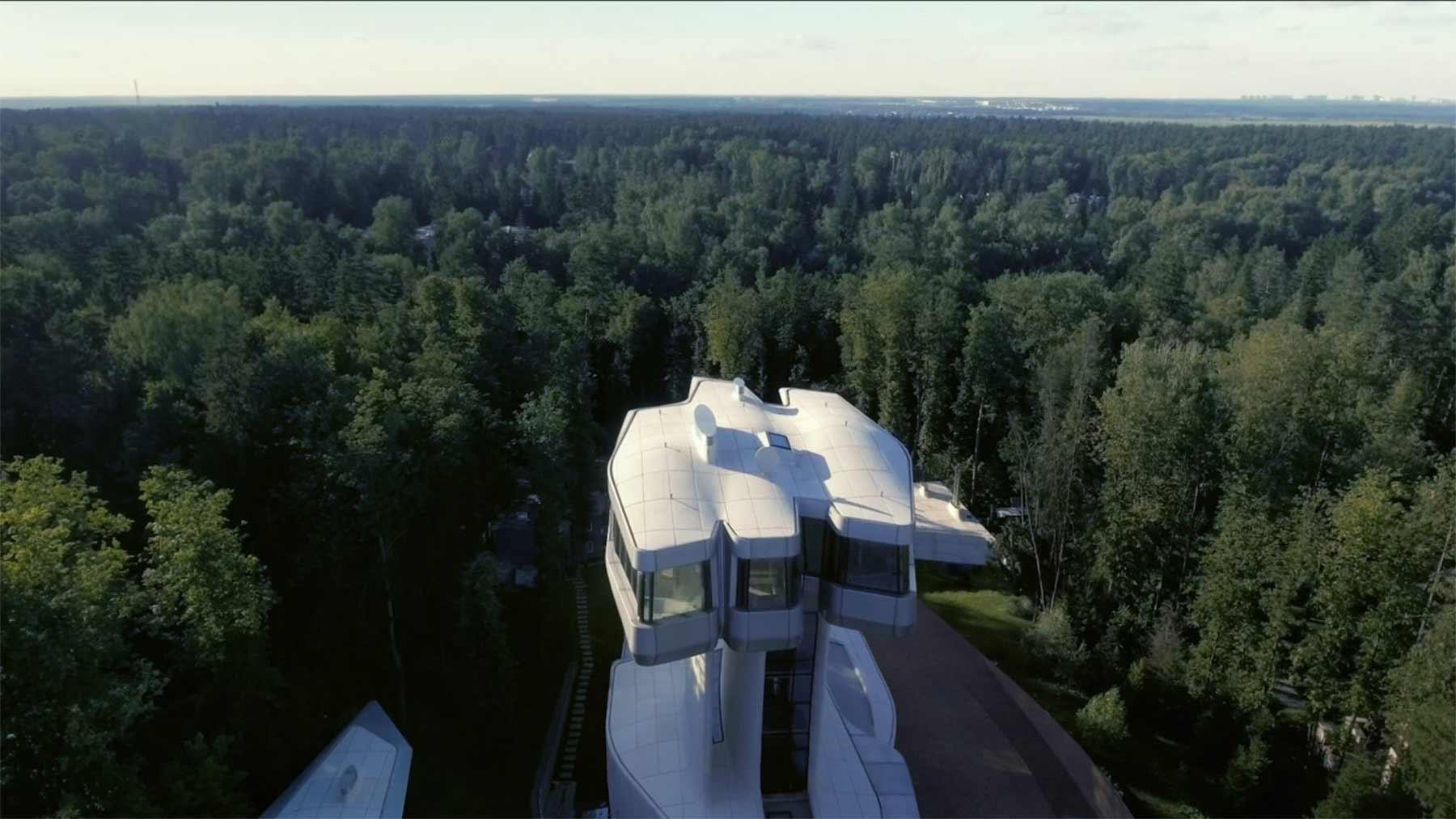 Ein Haus wie ein Raumschiff Capital-Hill-Residence-Zaha-Hadid_04
