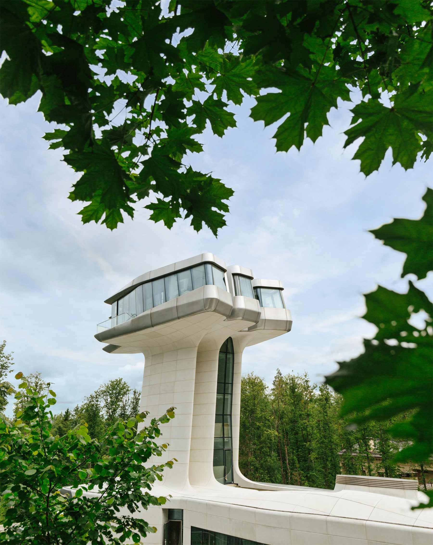 Ein Haus wie ein Raumschiff Capital-Hill-Residence-Zaha-Hadid_05