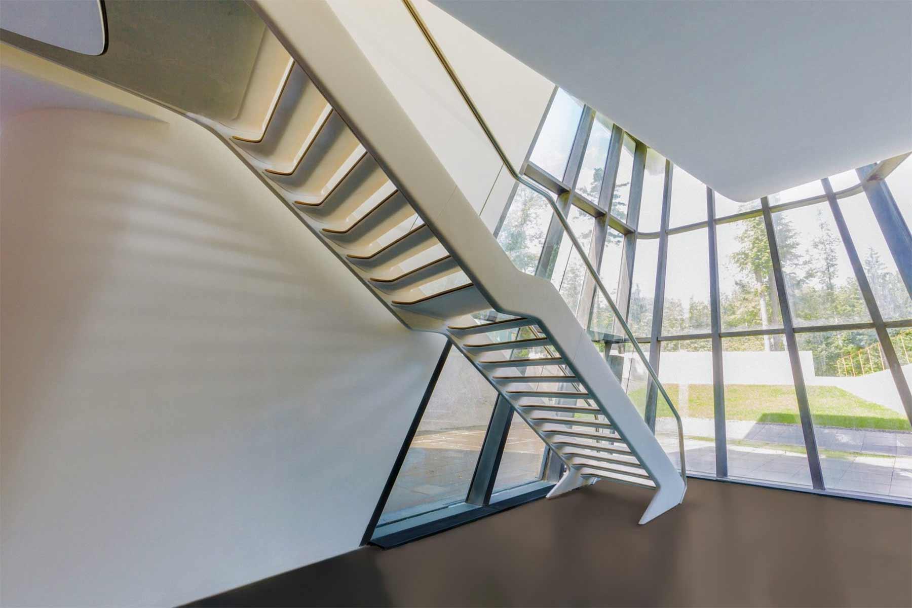 Ein Haus wie ein Raumschiff Capital-Hill-Residence-Zaha-Hadid_06