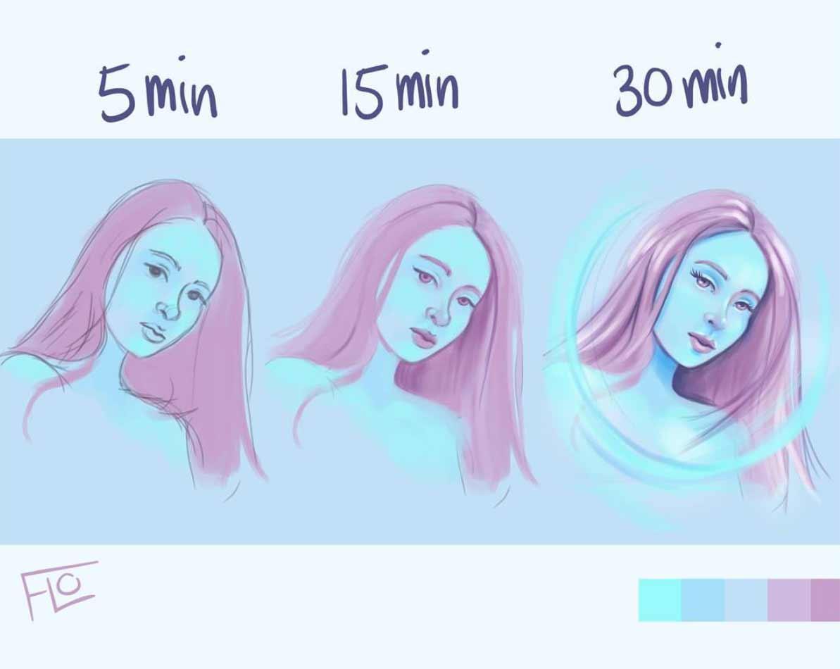 Zeit für Details: Zeichnungen von Floortje Floortje-speedpaintings_05