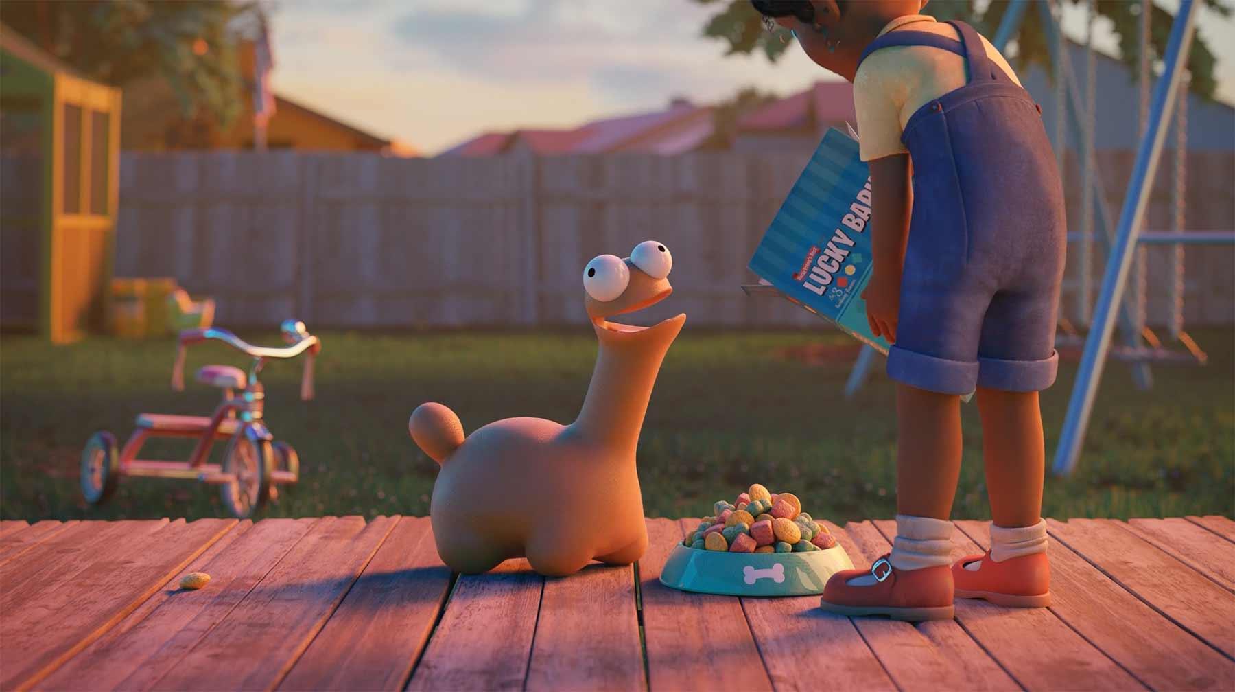 Süßes kleines Dino-Hündchen
