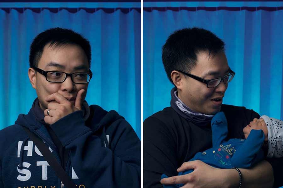 Portraits von Vätern vor und nach der Geburt ihres Kindes Vaeter-vor-und-nach-der-Geburt-Tom-Oldham_03