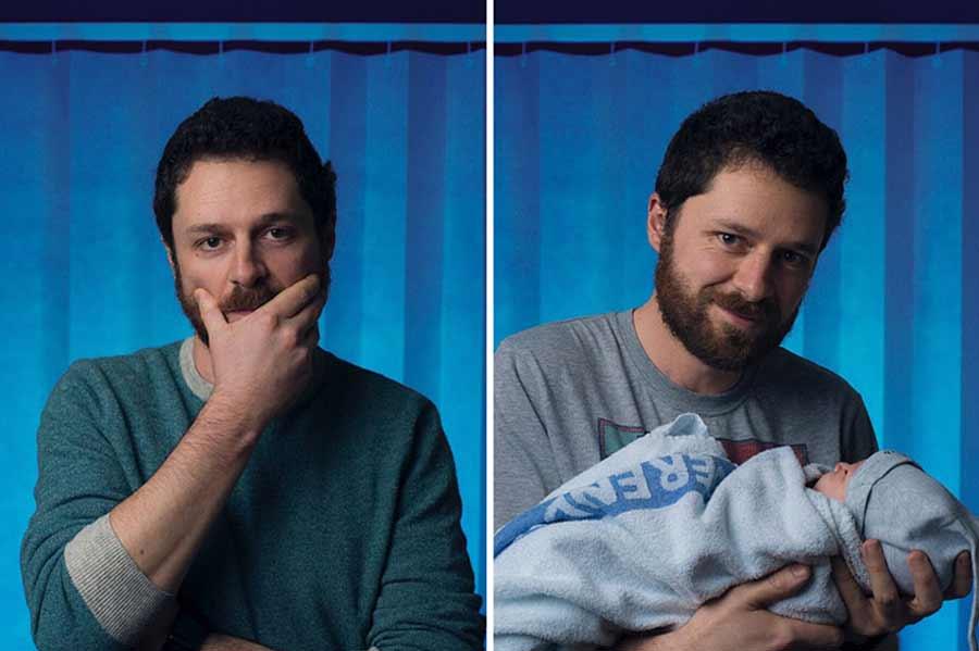 Portraits von Vätern vor und nach der Geburt ihres Kindes Vaeter-vor-und-nach-der-Geburt-Tom-Oldham_05