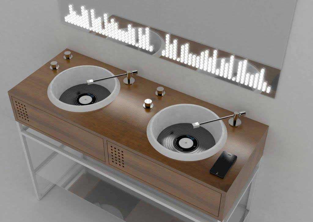 Waschbecken im Plattenspieler-Design Vinyl-waschbecken-Olympia-Ceramica_01
