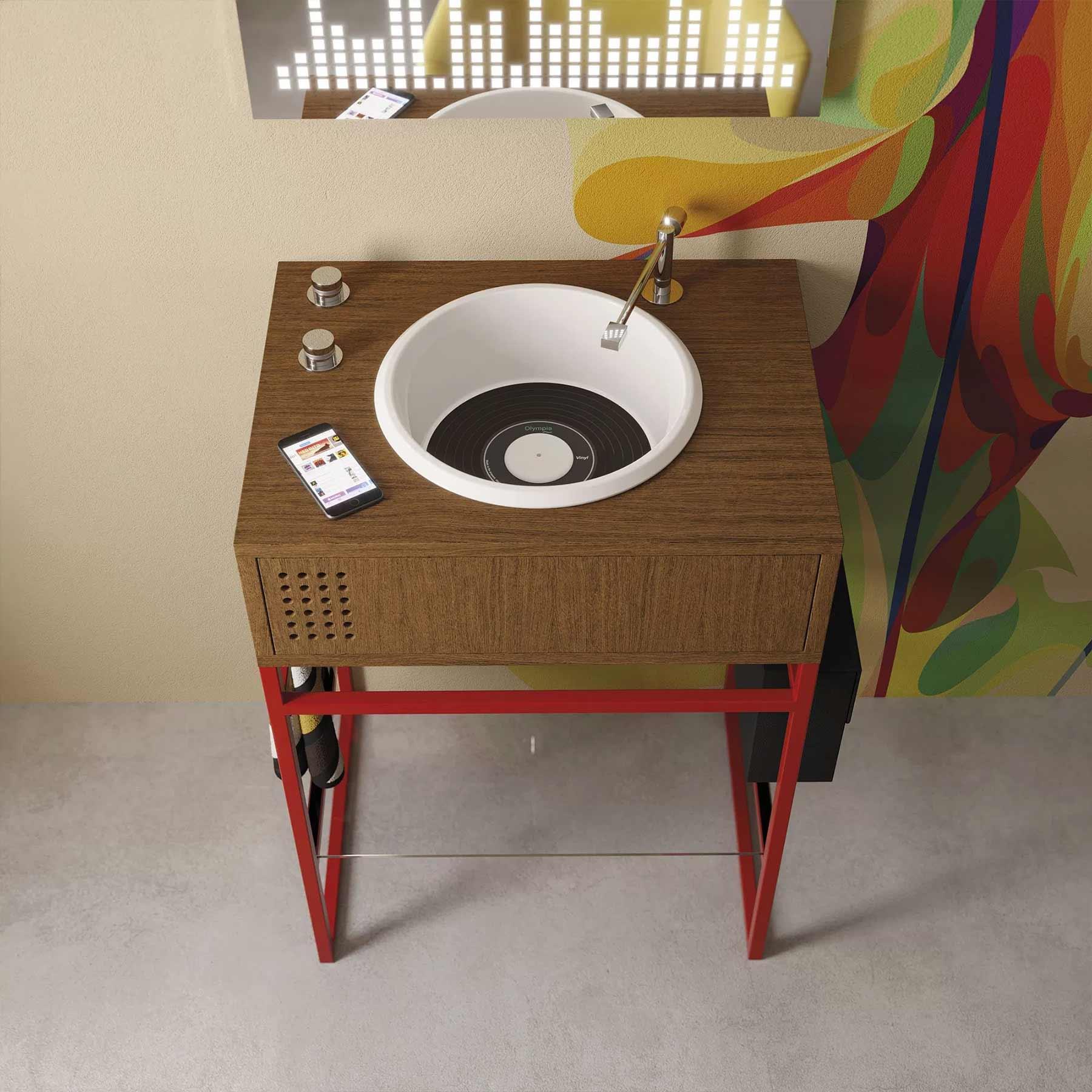 Waschbecken im Plattenspieler-Design Vinyl-waschbecken-Olympia-Ceramica_04