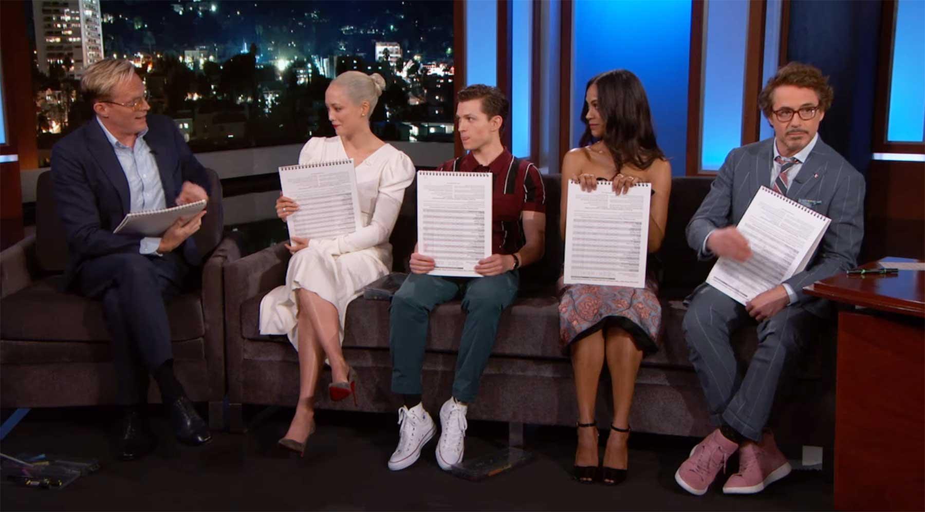 "Der ""Avengers: Infinity War""-Cast malt seine jeweiligen Charaktere"