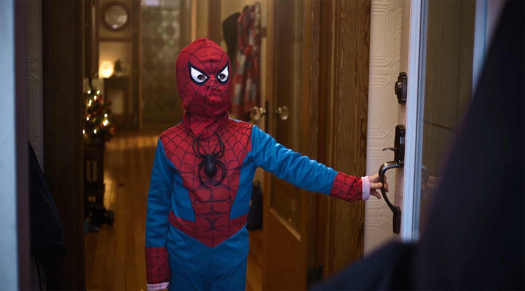 Spider-Man Junior und der Ex-Häftling an der Tür