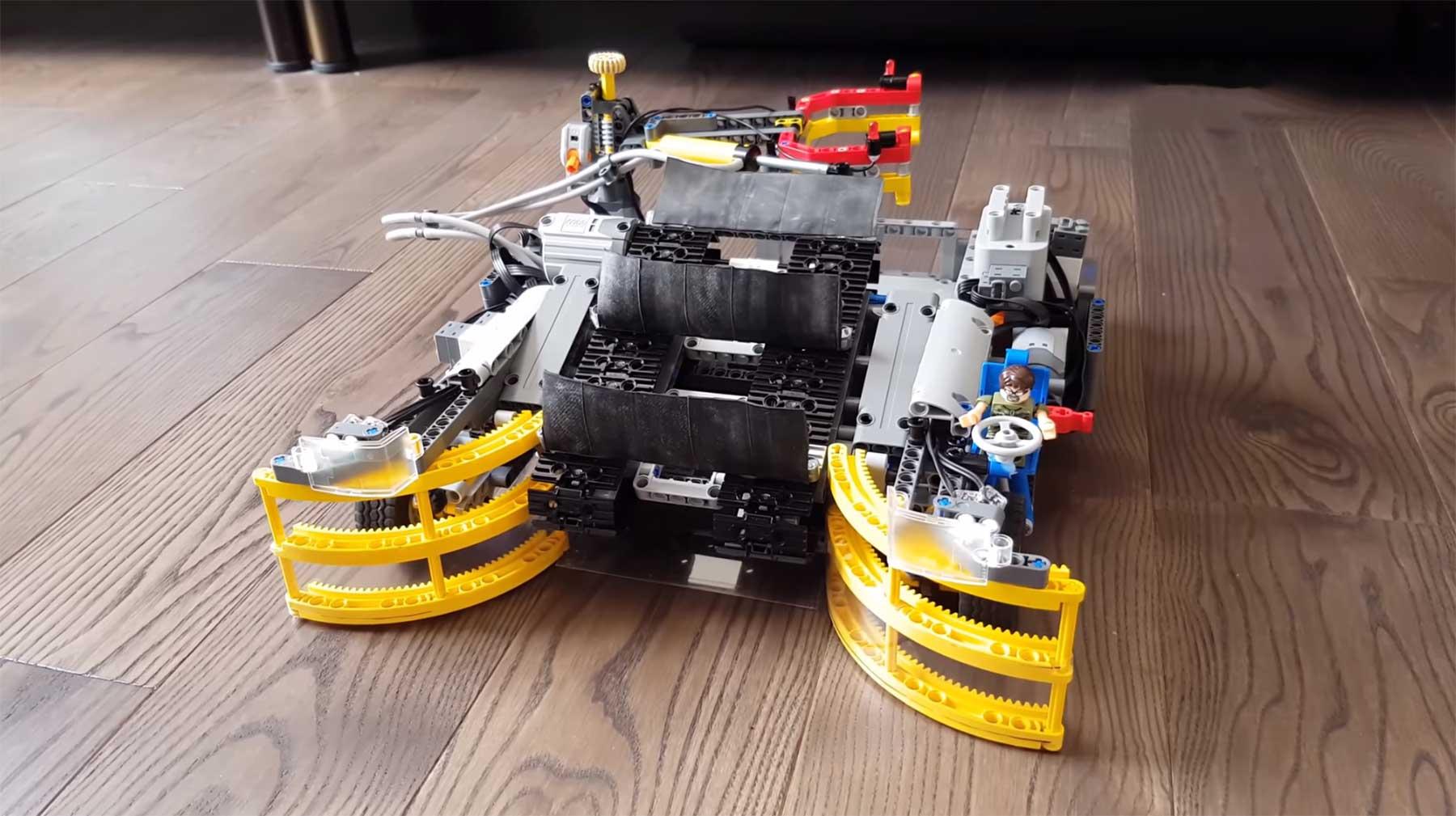 Ein LEGO-Roomba zum LEGO-Aufsammeln